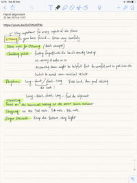 iPadのノートアプリ - Notability - No Man's Land