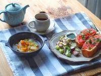 たこキャベ朝ごはん - 陶器通販・益子焼 雑貨手作り陶器のサイトショップ 木のねのブログ