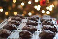 クリスマスクッキーが焼きあがりました - NY/Brooklynの空の下