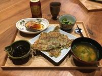 【献立】ねぎと大葉のチヂミ、焼き米茄子、きゅうりとわかめの酢の物、ニラのお味噌汁、ビール - kajuの■今日のお料理・簡単レシピ■