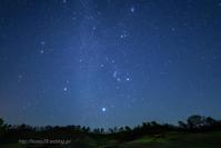 冬の星座 - デジタルで見ていた風景