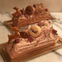 今年のブッシュドノエル、無事に作り終えました - 福岡のフランス菓子教室  ガトー・ド・ミナコ  2