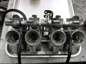CBX400Fのマフラー製作とキャブ修理・・・その7 -