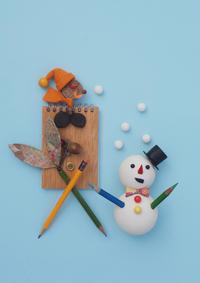 冬の企み - 日々の営み 酒井賢司のイラストレーション倉庫