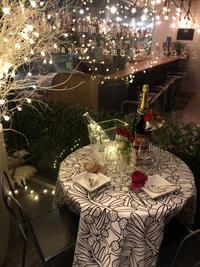 クリスマスディナーで・・・ - アーマ・テラス   ウエディングブログ