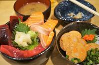 ■グルメ居酒屋【愛川町510水産にて。マグロサーモン丼/あん肝ポン酢。】 - 「料理と趣味の部屋」