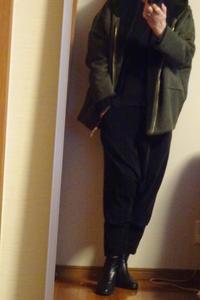 今流行りのフェイクムートンとやらを着てみました - おしゃれ自己満足日記