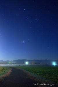 福島潟への道 - デジタルで見ていた風景