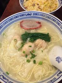 会社ランチ香港麺新記 - しあわせオレンジ