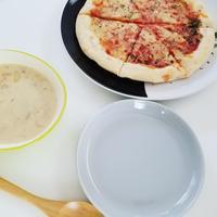 今日のお昼ごはんは - 白くて丸いもの