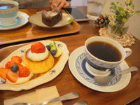 いちごのプリンアラモード:つばめ喫茶室(弘前市) - 津軽ジェンヌのcafe日記
