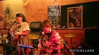 ビッタゴカフェで小野ヒロシPlus - キミティのお花とギター