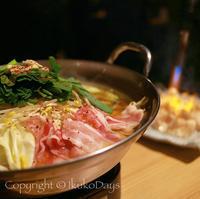 焼き串も良いけれど、松阪牛ホルモン炙り鍋は 絶対外せない!:『炭焼き やながわ』田町 三田 - IkukoDays