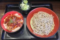 303杯目:富士そば歌舞伎座前店でミニポークチャップ丼セット - 富士そば原理主義