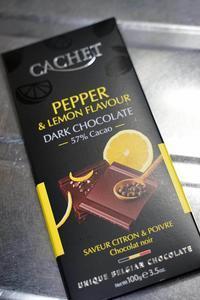 cachet pepper and lemon flavour DARK CHOCOLATE - Quetzalcóatl 2