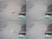 2019年12月31日夕方のかぐらスキー場ライブカメラ - スノーボードが大好きっ!!~ snow life in 2020/2021~