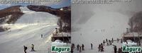 2019年12月31日朝と午後のかぐらスキー場ライブカメラを比較してみました - スノーボードが大好きっ!!~ snow life in 2020/2021~
