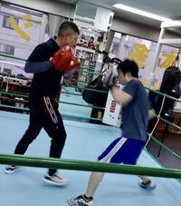 何末年始返上の選手 - 本多ボクシングジムのSEXYジャーマネ日記
