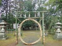 茅の輪くぐり~小御門神社~ - 里山の四季