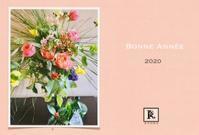 謹賀新年 2020年元旦 - Bouquets_ryoko