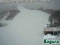 2020年1月2日朝のかぐらスキー場ライブカメラ - スノーボードが大好きっ!!~ snow life in 2020/2021~