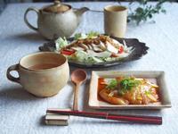 バタぽん焼きお餅朝ごはん - 陶器通販・益子焼 雑貨手作り陶器のサイトショップ 木のねのブログ