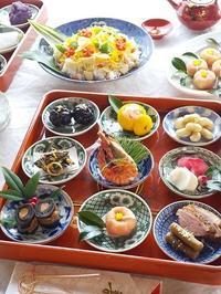 おせちリメイク♪ 筑前煮のちらし寿司、黒豆きんとん - キッチンで猫と・・・