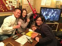 1月2日(木)ご来店♪ - 吹奏楽酒場「宝島。」の日々