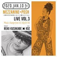Bar Mezzanine+POSH live vol.3 - singer KOZ ポツリ唄う・・・