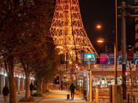 今宵のTokyo Tower - 青い自転車とともに