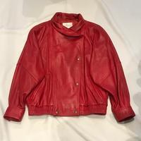 """80's""""Nordstrom""""レザージャケット - 「NoT kyomachi」はレディース専門のアメリカ古着の店です。アメリカで直接買い付けたvintage 古着やレギュラー古着、Antique、コーディネート等を紹介していきます。"""