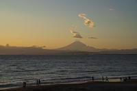 片瀬海岸からの笠雲 - エーデルワイスPhoto