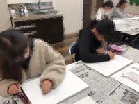 友遊カルチャー、学生のためのデッサン講座! - 大﨑造形絵画教室のブログ