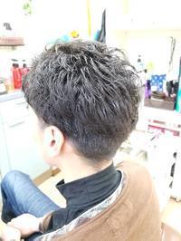 Men'sパーマ - ヘアーサロンササキ(釜石市大町)のブログ
