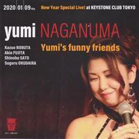 【宣伝】yumi NAGANUMA NEW Year Special Live!のお知らせ - 吹奏楽酒場「宝島。」の日々