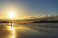 冬の湘南海岸の早朝 - エーデルワイスPhoto