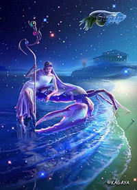宙模様~1/11蟹座満月~ - aloha healing Makanoe