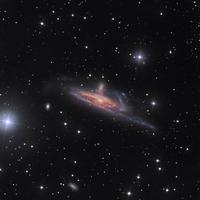 南天のエリダヌス座の美しい二つの銀河NGC1531とNGC1532 - 秘密の世界        [The Secret World]
