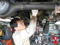 JA11、JA22ジムニーオイル漏れ修理中(*^o^*) - ★豊田市の車屋さん★ワイルドグース日記