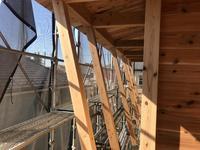 「板倉シェアハウス」5上棟後の進捗 - HAN環境・建築設計事務所