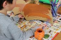 福笑いで大笑い - 大阪府池田市 幼児造形教室「はるいろクレヨンのブログ」