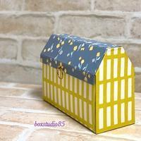 マスクのためのおうち型ボックス - 布箱日記 by  boxstudio85