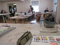 水彩画教室 - 南加フォト
