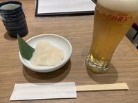 お寿司で昼飲み - ほろ酔いにて