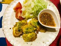 牡蠣のピカタ中華風ソースとデカ盛り茶碗蒸し! - ワタシの呑日記