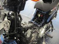 スーパーカブにドラレコ - バイクの横輪