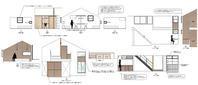 展開図によるインテリア検討 - atelier kukka architects