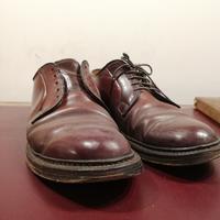 【ALDEN】コードヴァンケア+カカト+ハーフラバー修理 - Shoe Care & Shoe Order 「FANS.浅草本店」M.Mowbray Shop