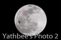 ~ 月と旅客機 ~2020.1.10 - Yathbee's Photo 2