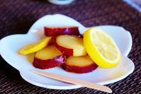 紅はるかのレモン煮 - ♪一枚のphotograph♪